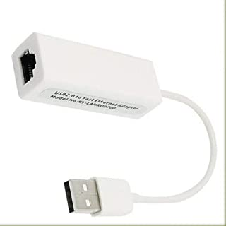 USB 2.0 to RJ45 High Speed Ethernet Network 10/100M LAN Adapter Card For PC\Windows7, Tablet, Laptop