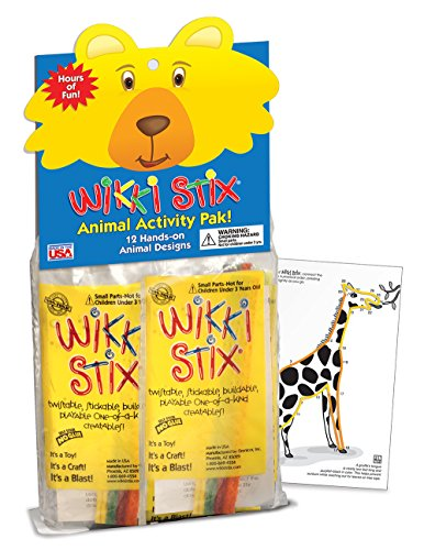 WikkiStix Animal Activity Pak