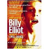 KONGQTE Billy Elliot Filmplakat und Drucke Wanddekoration