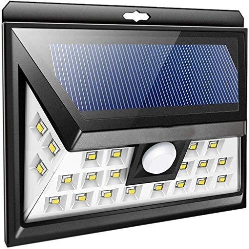 Solarlampen voor buiten, 3 selecteerbare modi, draadloos, bewegingsmelder, waterdicht, IP65, eenvoudig te installeren.