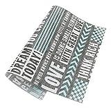 Spicy Meow 50 Blatt Grau Englisch Muster Öldicht Backen Kraftpapier Essen Platte Tablett Papier