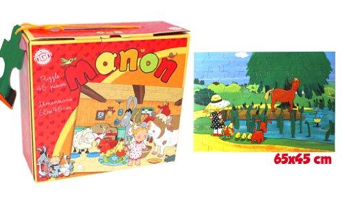 MGM - 140345 - Puzzle - BTE/Puzzle Manon - 45 Pièces - 65 x 45 cm