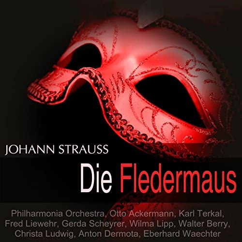 Philharmonia Orchestra, Otto Ackermann, Karl Terkal, Gerda Scheyrer