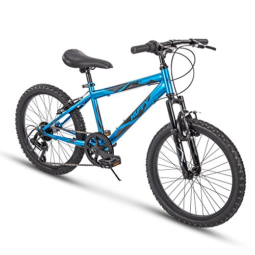 Huffy Kids Hardtail Mountain Bike for Boys, Summit Ridge 20 inch 6-Speed