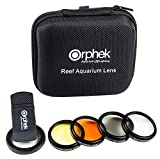 ORPHEK LENS – 2020 Kit for Smartphones – 4 Included: Macro, CPL 37mm Polarized, 15,000k Orange, 20,000k Yellow – For ALL smartphone models: iphone, samsung, huawei, google pixel, tablets and more!
