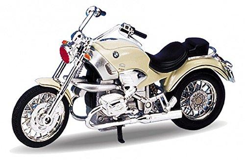 DieCast Modell Motorrad BMW R 1200 C creme metall Welly Motorradmodell 1:18