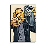 Eminem Boombox Poster West Hip Hop East Rapper Stars Kunst
