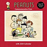 Peanuts 2020 Commemorative Print with Wall Calendar