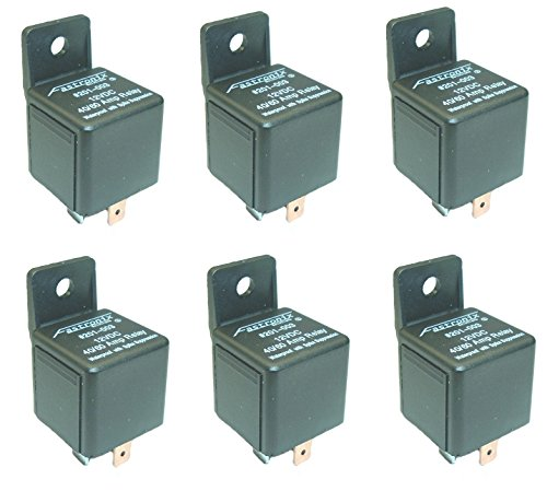Price comparison product image Fastronix 40 / 60A Waterproof Relay 6 Pack