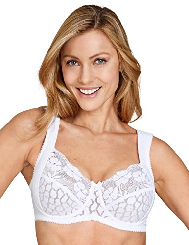 Miss Mary of Sweden Jacquard & Lace Underwired Bra