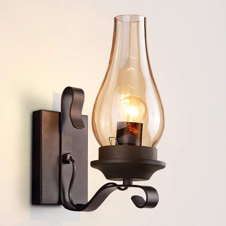 Schwarz Vintage Retro Wandlampe Licht Nhx Metall Ein 6YvIyf7gbm
