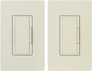 Lutron MACL-153M-RHW-LA Maestro 150-Watt Multi-Location CFL/LED Digital Dimmer Kit