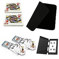 Felimoa マジック トランプ カード 手品 マット イカサマ 遊び イベント 6点セット