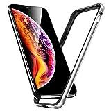 ESR iPhone Xs バンパー iPhone X バンパー ケース 5.8インチ [アルミ+シリコン 二重構造] 衝……