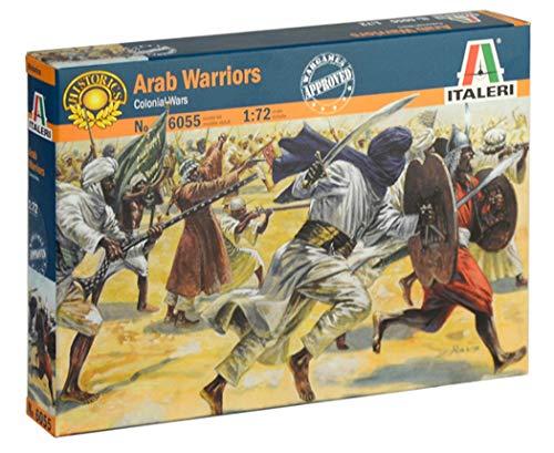 Italeri 6055 Arab Warriors Colonial Wars Soldados de plástico Escala 1:72