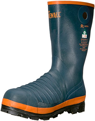 Viking Men's Firewall Rigger Boot, Steel Toe and Plate Fire and Safety, Navy, 10