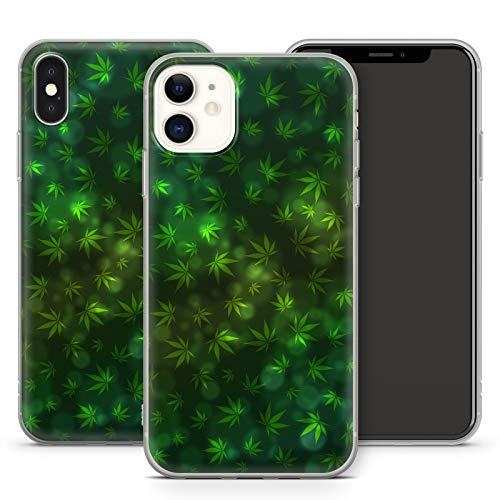 Handyhülle Cannabis Bang für Apple iPhone Silikon MMM Berlin Hülle Marihuana Weed Gras Hanf Canabis, Kompatibel mit Handy:Apple iPhone 8 Plus, Hüllendesign:Design 3 | Silikon Klar