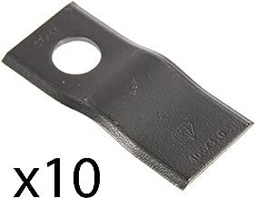 (10) Disc Mower Blade for John Deere Mower Replaces PMLBL0011
