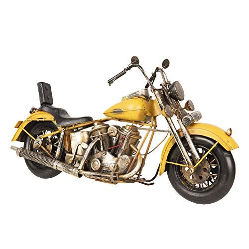 Clayre & Eef MO0025 Modell Motorrad Ca. 41 x 15 x 24 cm
