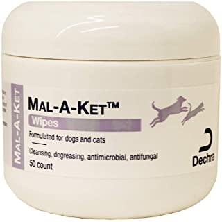 Dechra Mal-A-Ket Wipes for Dogs & Cats 50 Ct