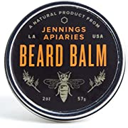 Beard Balm - Natural Conditioner and Styling to Help Your Beard Grow and Look Its Best - Lightly Scented with Cedarwood - Made w Organic Ingredients - No Petroleum, Parabens, Lanolin