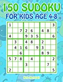 150 Sudoku for Kids Ages 4-8: Sudoku With Cute Monster Books for Kids (Sudoku Puzzle Books for Kids)