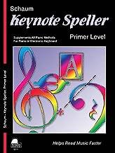 Keynote Speller Primer Level (Schaum Publications Keynote Speller)
