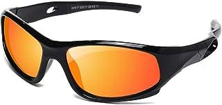 YAMAZI Children Sports Polarized Sunglasses For Kids Boys Girls Rubber Flexible Frame Sunglasses UV Protection