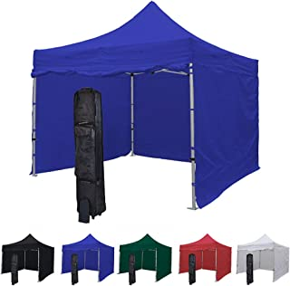 outside canopy tents