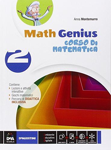 Math genius. Palestra matematica. Per la Scuola media. Con e-book. Con espansione online (Vol. 2)