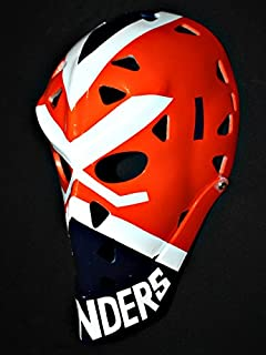 tripple_777 1:1 Custom Vintage Fiberglass Roller Ice Hockey Goalie Mask Helmet Billy Smith HO91