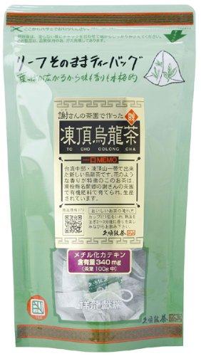 久順銘茶 謝さんのリーフ 凍頂烏龍茶 ティーバッグ 2gX10P