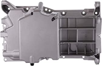 OCPTY Engine Oil Pan Steel Assembly Fits 2003-2014 L4 2.4L Cummins Diesel Buick Chevy GMC Pontiac Saturn Pickup Truck Compatible with 264-133
