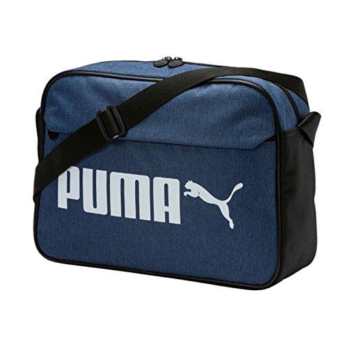 Puma Unisex Umhängtasche Campus Reporter Woven 075008 Blue Indigo-Denim One size