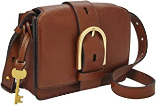 Fossil Wiley Leather 18.41 cms Cognac Gym Shoulder Bag (ZB7885200)