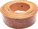 Springfield Leather Company's Buffalo Leather Strips (1', Vintage Tan)