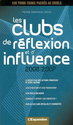 Les clubs de réflexion et d'influence
