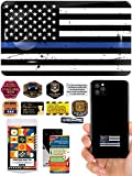 Havongki Police Officer Premium 3D Clear Dome Stick Accessories Set for Gifts Cell