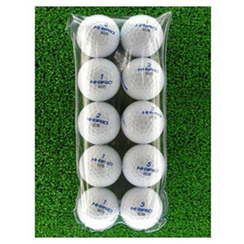 ロストボール Lost Ball ボール メイホウゴルフ ロストボール ニューハイブリッドBb 10個セット 1パック(10個入り) ホワイト
