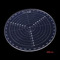 センターファインダーコンパスツールボウル用の木工作業描画円直径-200mm