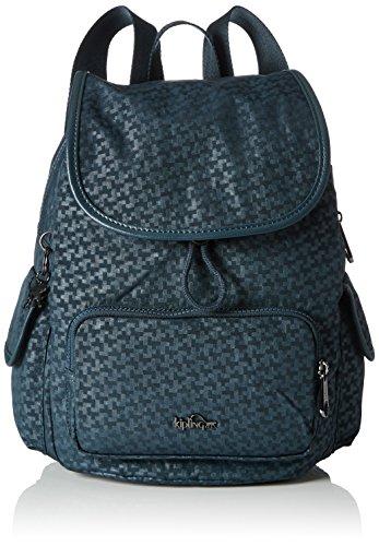 Kipling Damen City Pack S Rucksack Grün (Dk Emerald Emb)