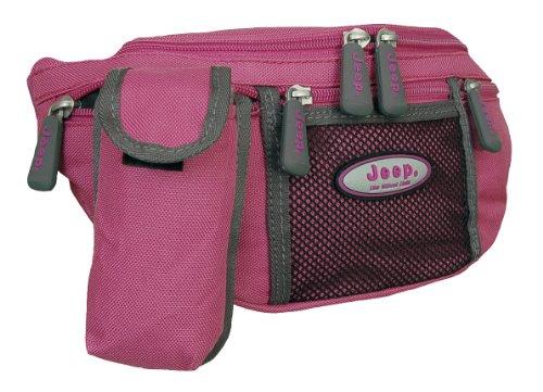 Jeep - ceinture banane sport - femme - rose