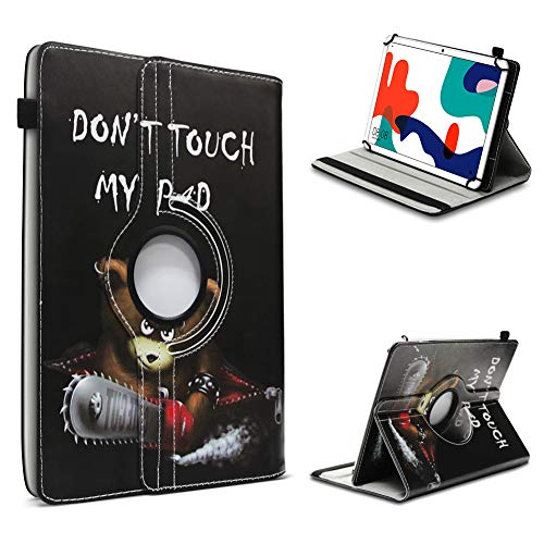 UC Express Tablet Hulle kompatibel fur Huawei MatePad T10 T10s Tasche Schutzhulle Schutz Cover 360 Drehbar Universal Case FarbeMotiv 3