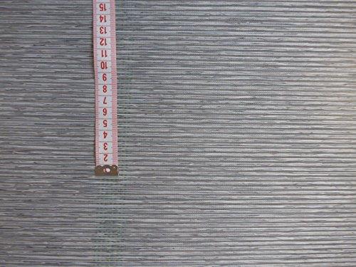 Schiebevorhangstoff grau meliert 40cm breit Bambus optik