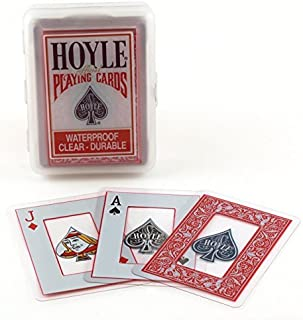 Hoyle Clear Plastic Playing Cards (4-Pack)