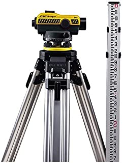 CST/berger 55-SLVP24ND 24X Automatic Optical Level Kit with Tripod, Rod, and Carrying Case