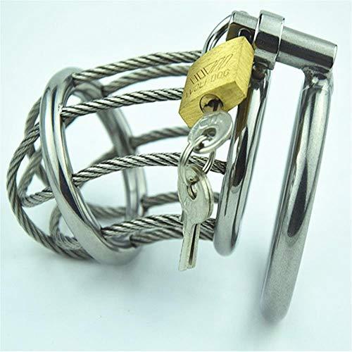 WYHP Schutzring für Männer, hypoallergen, Edelstahl, geeignet für Männer jeder Größe, 45MM snap Ring