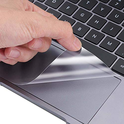 Puccy 2 Pack Touch Pad Film Protector, compatible with MSI GS63VR 6RF STEALTH PRO (004JP) 15.6' TPU TouchPad Guard Cover ( Not Tempered Glass/Not Screen Protectors)