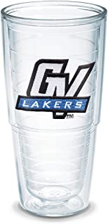 Tervis 1038315 Grand Valley State University Emblem Individually Boxed Tumbler, 24 oz, Clear