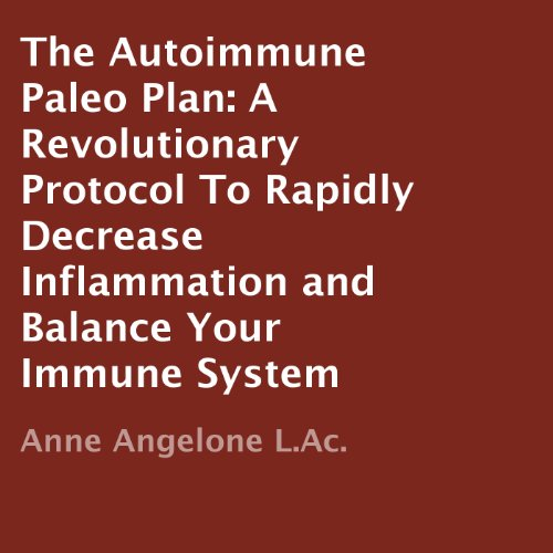 The Autoimmune Paleo Plan audiobook cover art